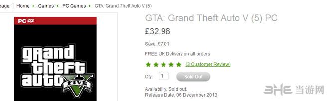国外知名网站爆料GTA5PC版发售时间2