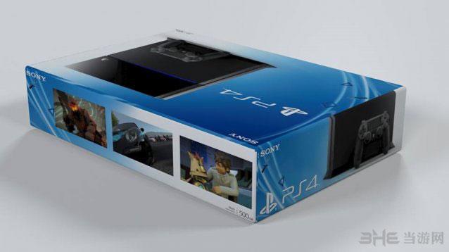 索尼PS4包装