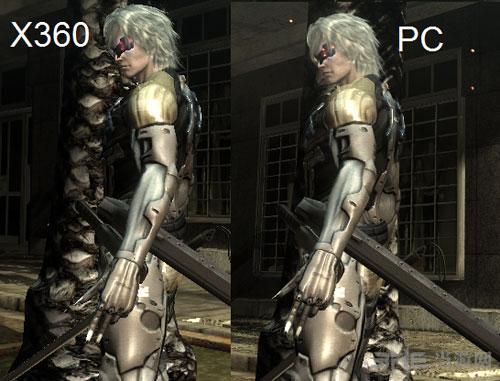 合金装备崛起复仇pc版画质VS Xbox3601