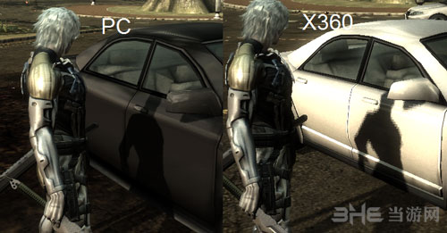 合金装备崛起复仇pc版画质VS Xbox3602