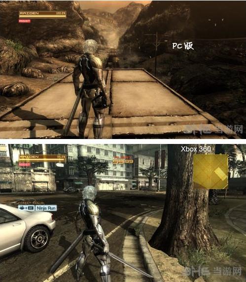 合金装备崛起复仇pc版画质VS Xbox3603