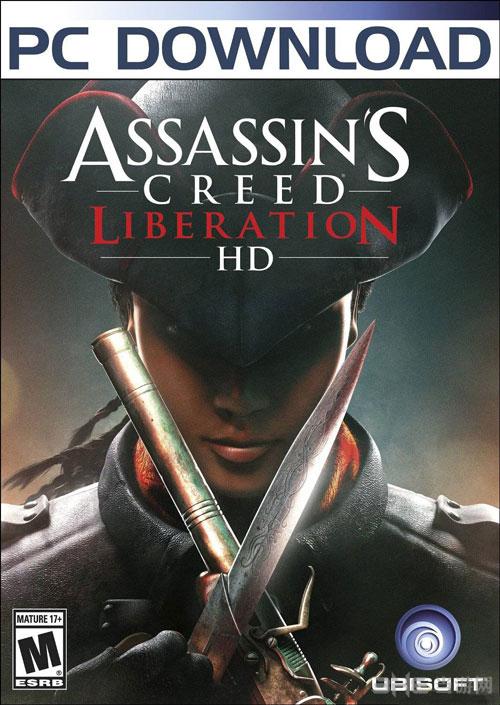 刺客信条3解放HD游戏封面