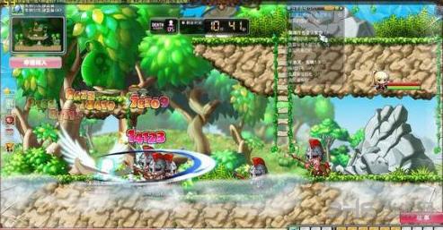 2014春节攻略:新春必玩经典单机游戏推荐-冒险岛1