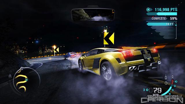 PC手柄玩的单机游戏推荐-极品飞车10卡本峡谷2