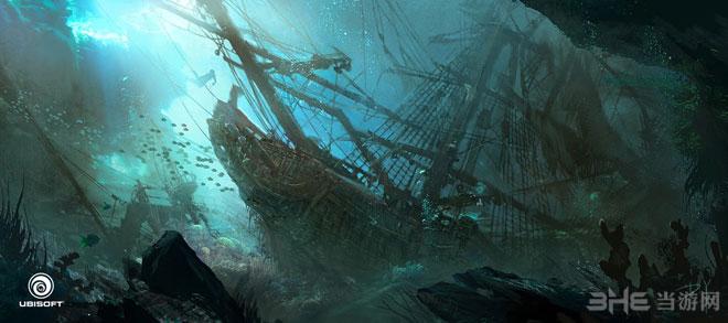 2013年度最佳电子游戏原画作品刺客信条4黑旗-DONGLU YU(华人)