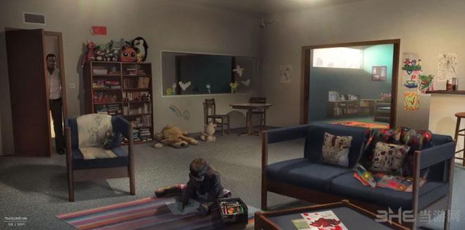 2013年度最佳电子游戏原画作品超凡双生-GEOFFREY THOORENS