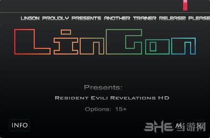 生化危机启示录HD十五项修改器截图0