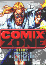 GBA漫��地��(Comix Zone)美版