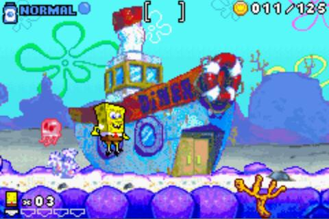 gba海绵宝宝荷兰鬼魂的复仇 (sponge bob square pants revenge of