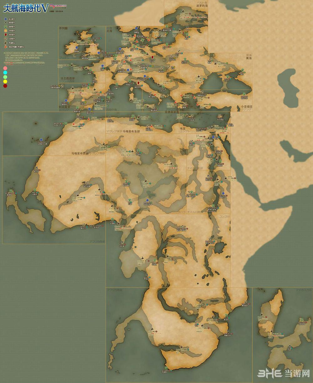 大海航时代5高清航海图