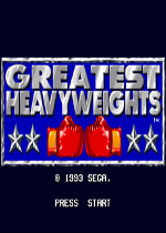 超重量级拳击赛