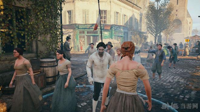 刺客信条大革命PS4实机截图2