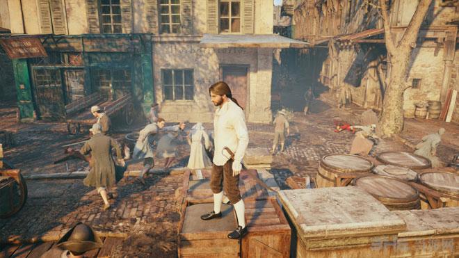 刺客信条大革命PS4实机截图3