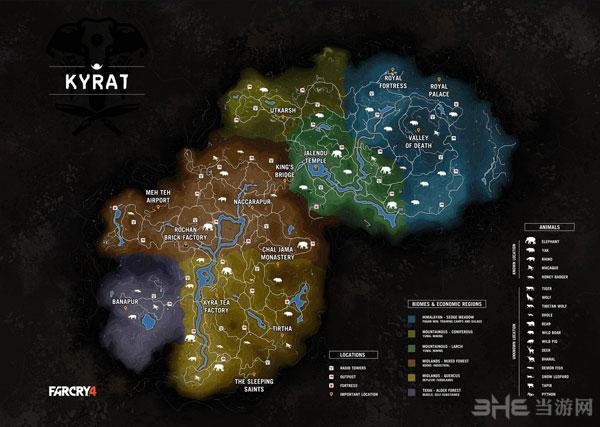 孤岛惊魂4地图1