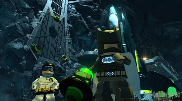 乐高蝙蝠侠3飞跃哥谭市截图