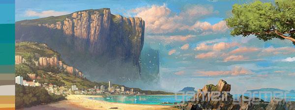 正当防卫3最新概念艺术插图放出 唯美画面令人欣喜图片