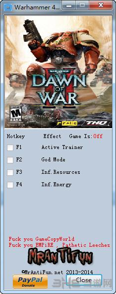 战锤40K战争黎明2惩罚三项修改器截图0