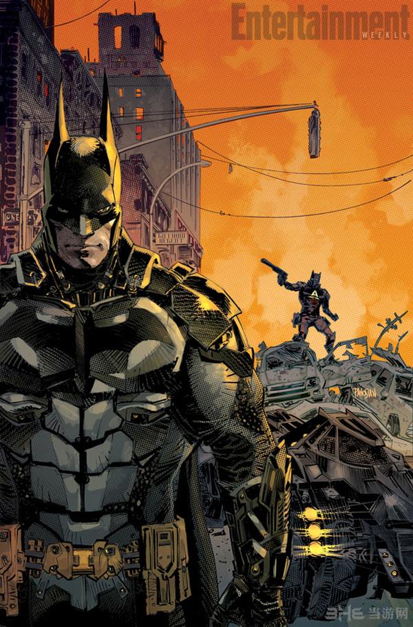 蝙蝠侠阿卡姆骑士前传漫画