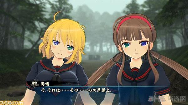 闪乱神乐少女们的选择游戏截图放出 二次元爆乳妹子登场