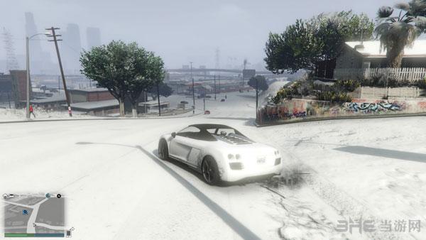 GTA5雪景截图2