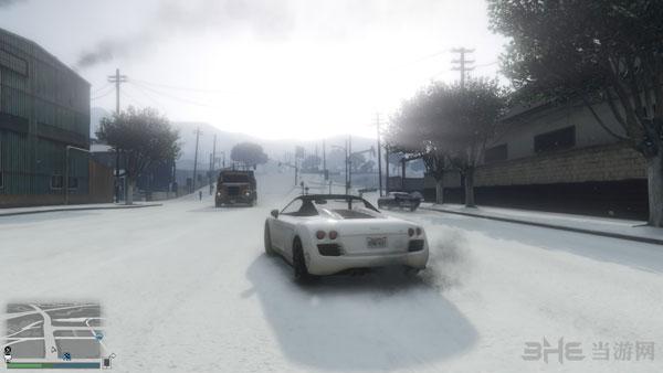GTA5雪景截图1
