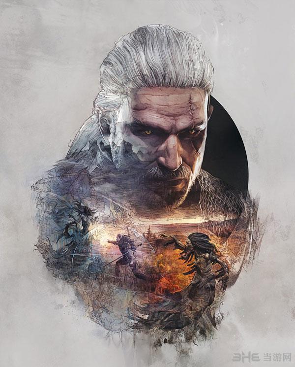 巫师3狂猎典藏版封面图3
