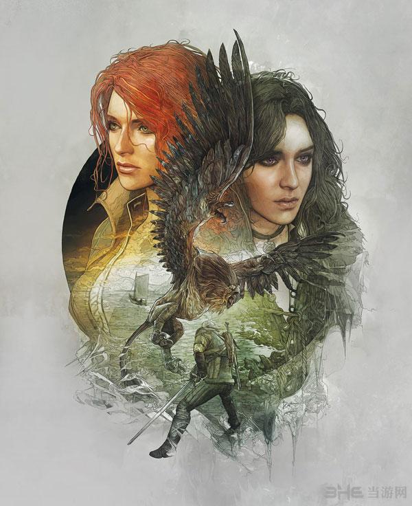 巫师3狂猎典藏版封面图2