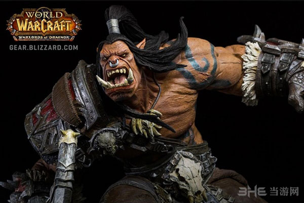 魔兽世界格罗姆地狱咆哮雕塑1