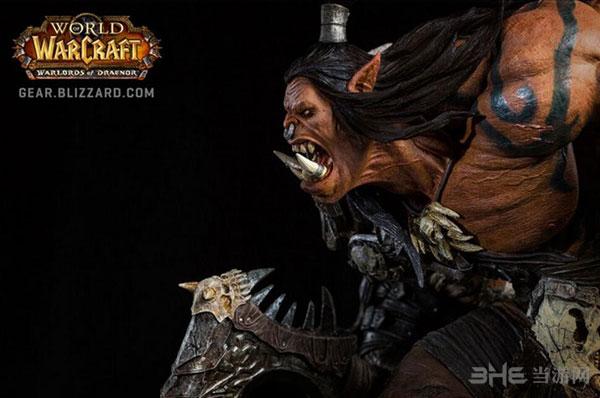 魔兽世界格罗姆地狱咆哮雕塑3