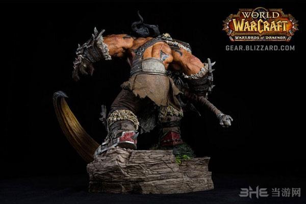 魔兽世界格罗姆地狱咆哮雕塑4