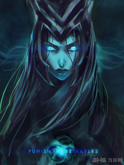 英雄联盟复仇之矛卡莉丝塔手绘放出 灵气逼人