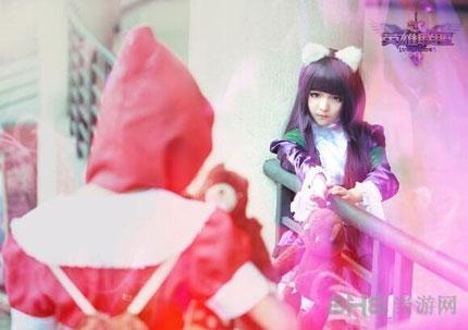 lol黑暗之女安妮cos3