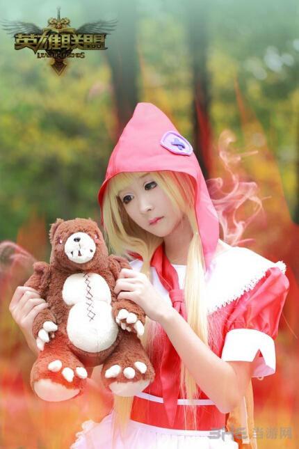 lol黑暗之女安妮cos 你见过我的小熊吗
