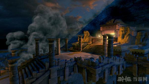 劳拉和奥西里斯神庙截图2