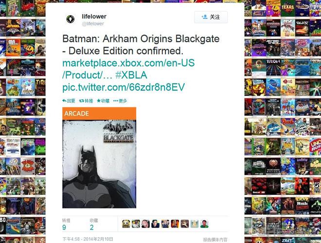 蝙蝠侠阿卡姆起源黑门登陆Xbox1