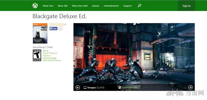 蝙蝠侠阿卡姆起源黑门登陆Xbox2