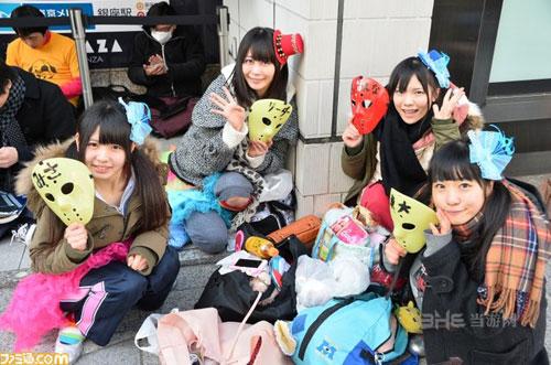 ps4日本首发现场照片1