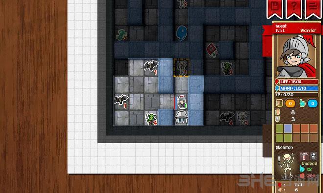 纸面地下城截图3