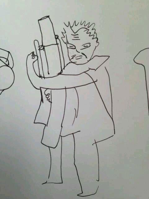 lol进击的小学生英雄手绘图曝光 你那么屌你家人知道嘛