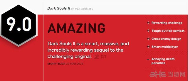 黑暗之魂2获IGN9.0高分