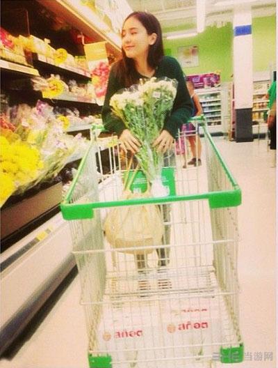 泰国绝色女星泰国版浪漫满屋女主角李海娜生活照13