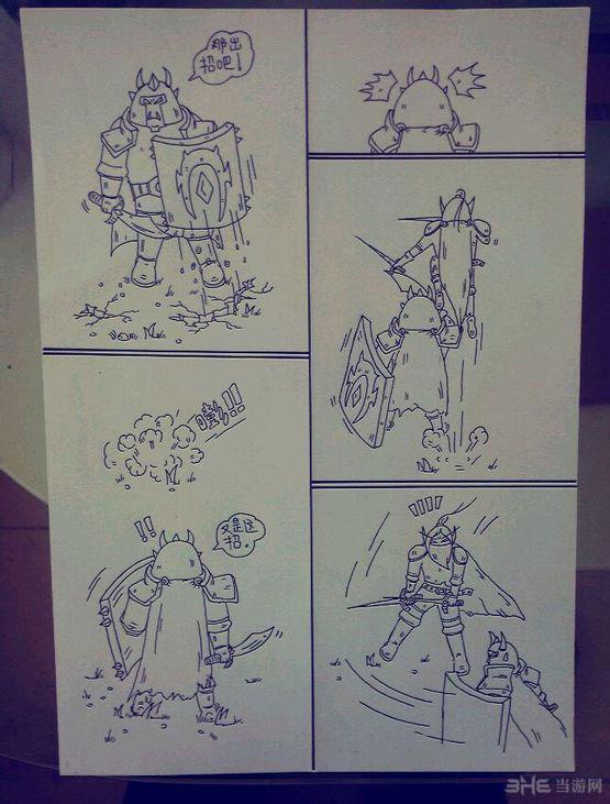 魔兽世界手绘版走红网络 普通玩家讲诉超有爱游戏世界