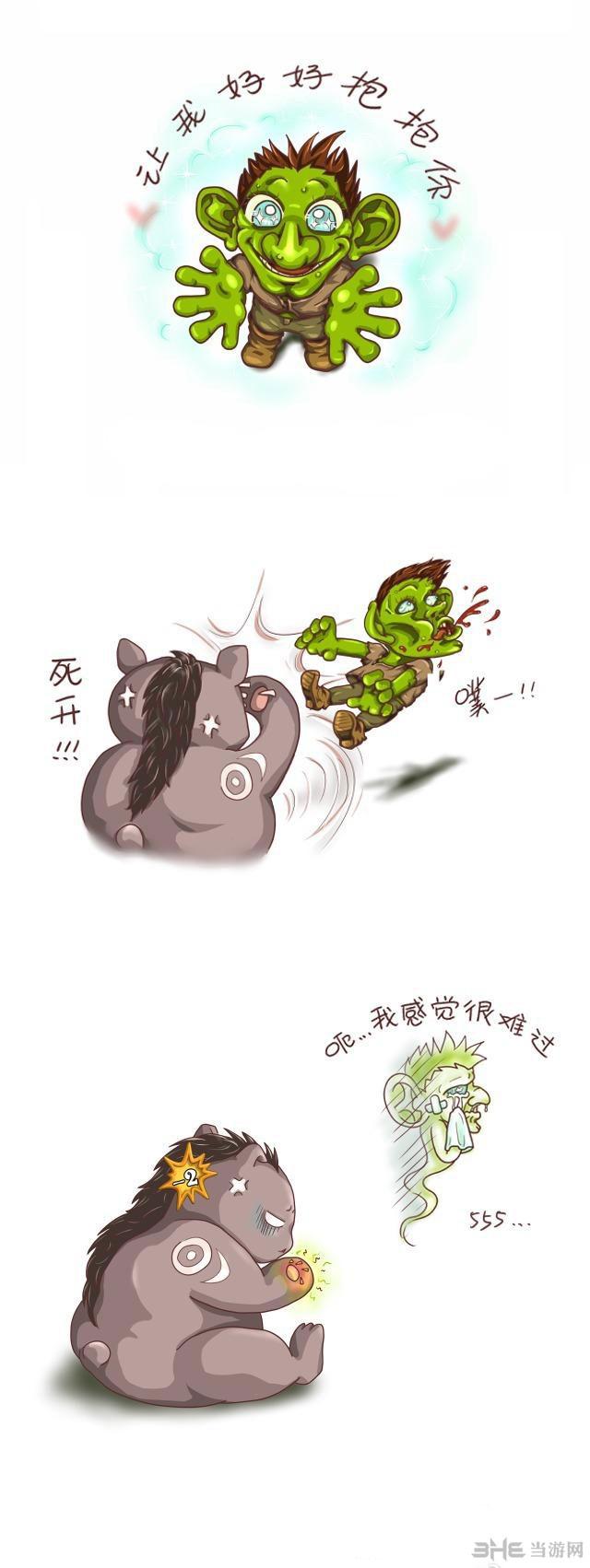 炉石传说搞笑漫画图片1