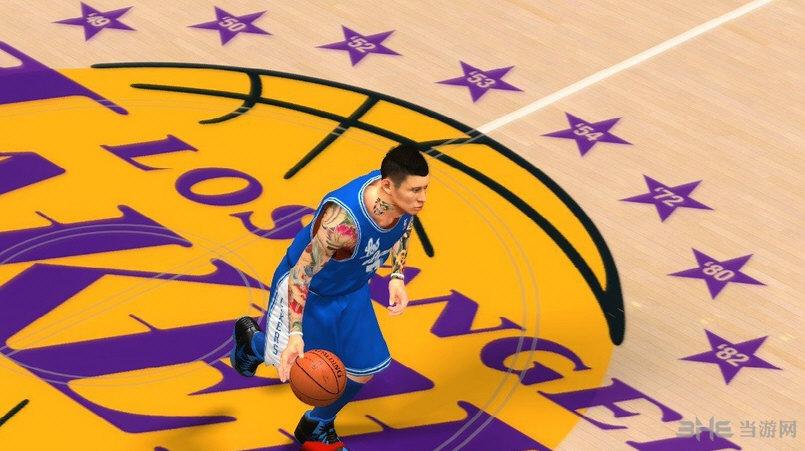 NBA2K14林书豪花臂纹身MOD