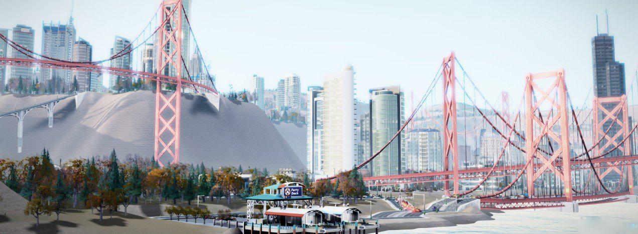 模拟城市5日间美图放出 湖光倒影令人沉迷