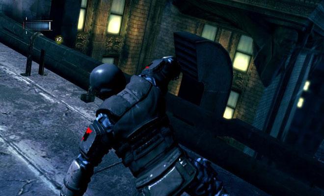 蝙蝠侠:阿卡姆起源黑门截图2