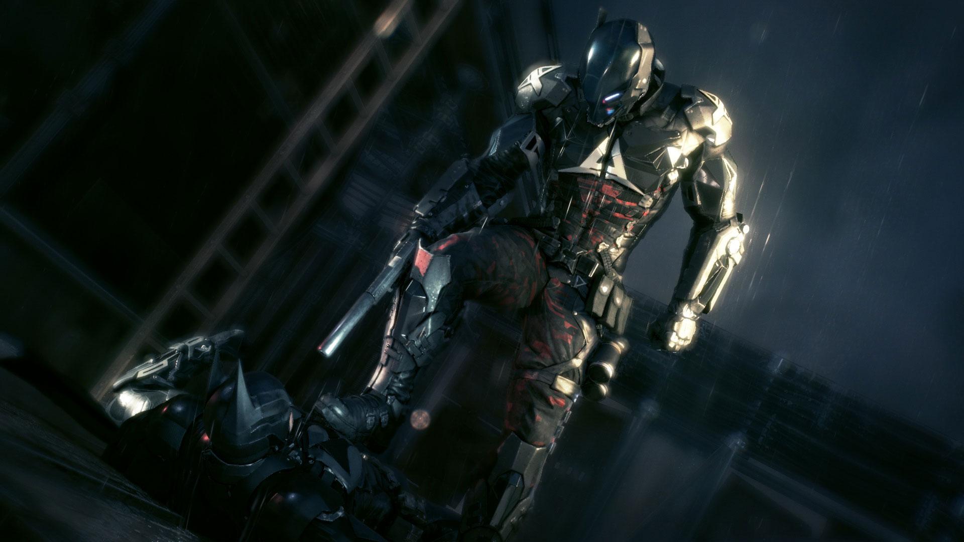 蝙蝠侠阿甘骑士高清壁纸 最新游戏壁纸大全