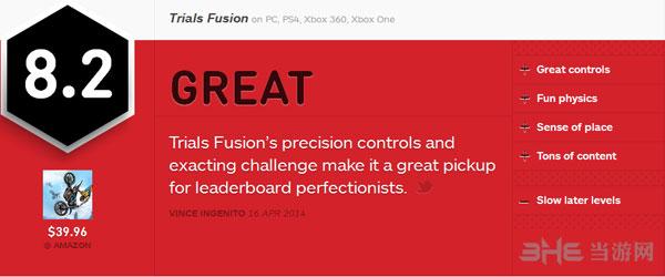 特技摩托聚变获IGN8.2好评