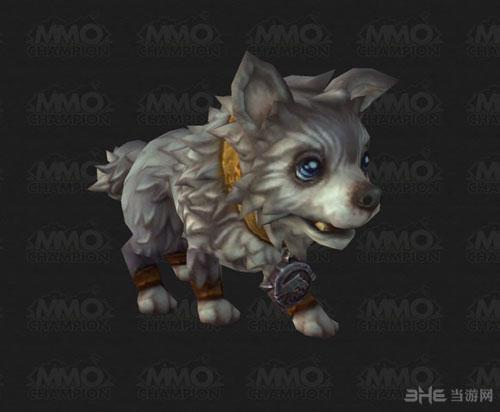 魔兽世界6.0德拉诺之王——霜狼幼崽