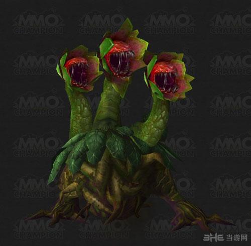 魔兽世界6.0德拉诺之王——惊怖植物